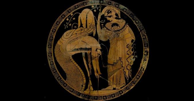 facebook Athena and a snake